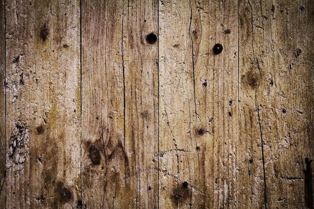 Belle toile de fond antique en bois foncé. espace de copie.