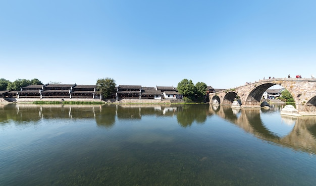 Belle vieille ville de hangzhou, chine