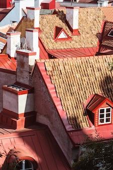 Belle vieille ville de tallinn en estonie