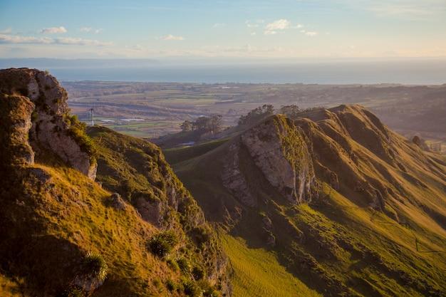 Belle vue depuis te mata peak, nouvelle-zélande