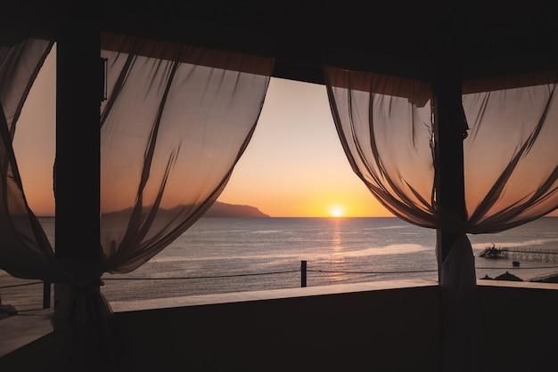 Belle vue mer depuis le gazebo