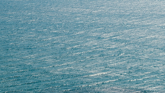 Belle vue mer avec océan