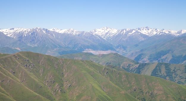 Belle vue. montagnes en arménie