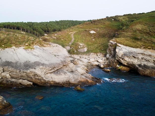 Belle vue paysage sur l'océan
