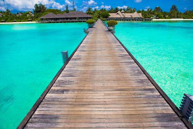 Belle vue tropicale de l'île idéale