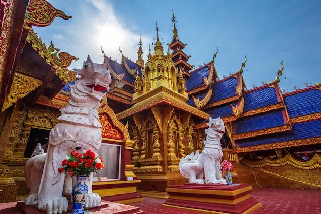 La belle de wat pipatmongkol est un temple bouddhiste