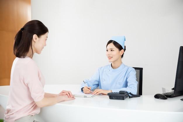 Belles infirmières à l'hôpital