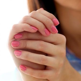 Belles mains douces