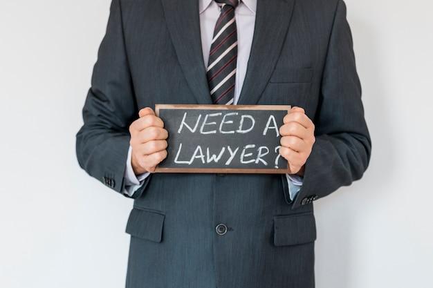 Besoin d'une annonce d'avocat