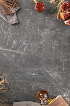 Béton rayé texturé gris comme arrière-plan