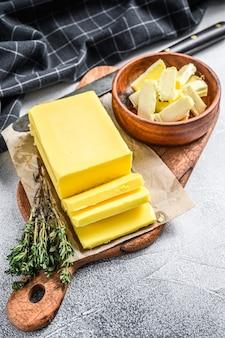 Beurre fermier, produits laitiers biologiques