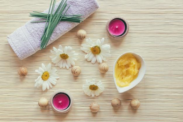Beurre de karité et serviette