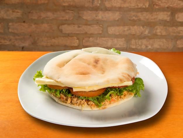 Le beyrouth - un sandwich brésilien.