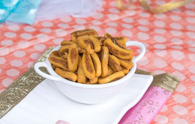Bhakarwadi alimentaire