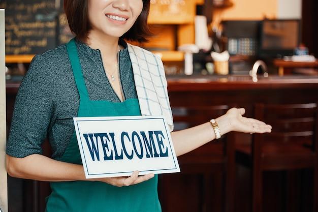 Bienvenue au pub