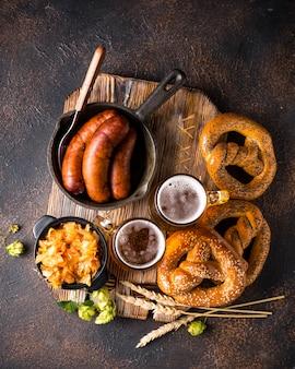 Bière, bretzels et cuisine bavaroise