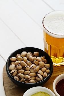 Bière et collations