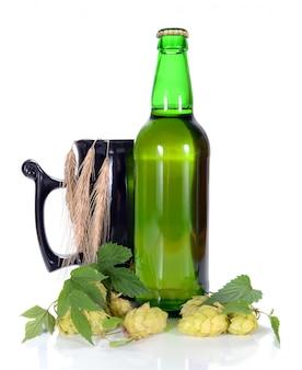 Bière et hop