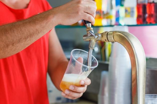 Bière pression pour