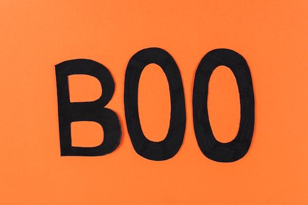 Big boo lettres noires