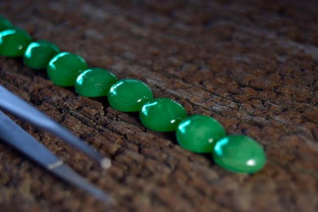 Bijoux jadefor vert jade