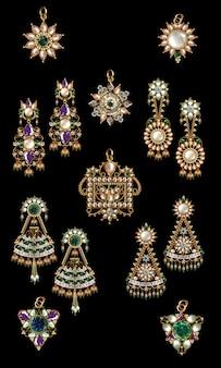 Bijoux en perles indiennes antiques