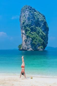 Bikini sur la plage