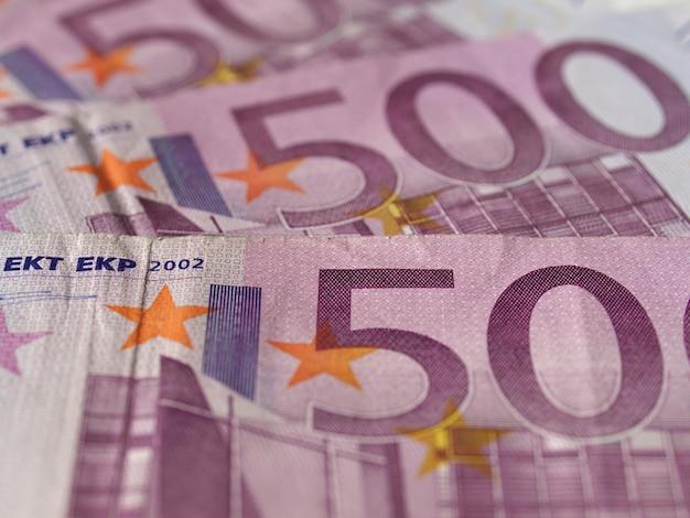 Billet de 500 euros, union européenne