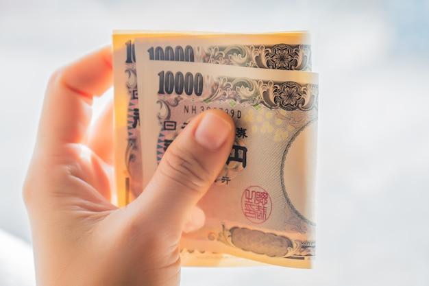 Billets de banque en argent yen