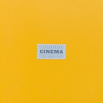 Billets de cinéma vintage