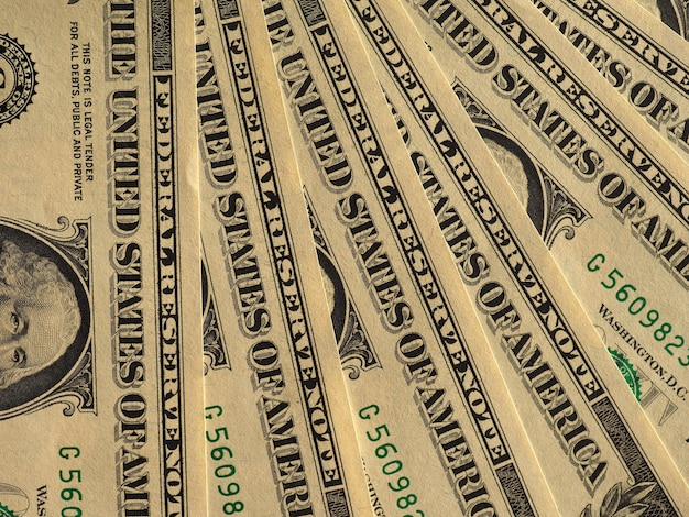Billets en dollars, états-unis