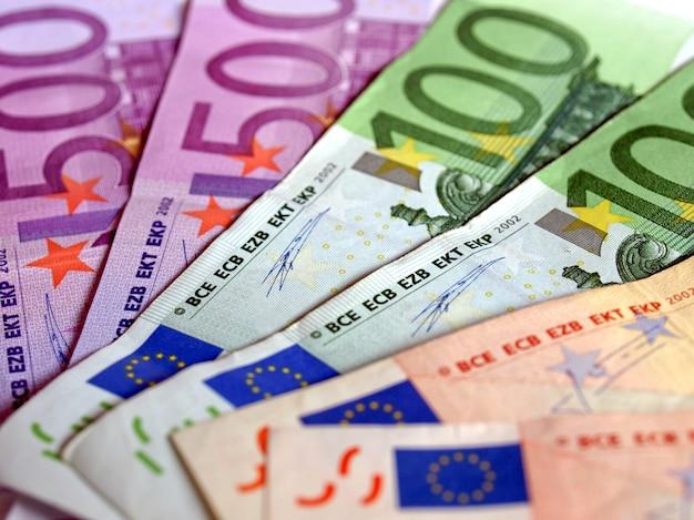 Billets en euros, union européenne
