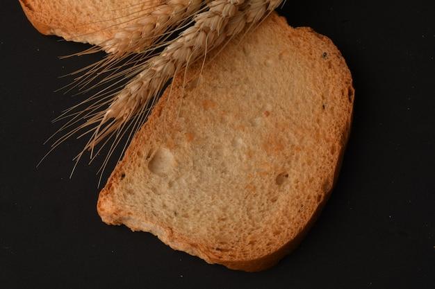Biscotte croustillante ou toast pour une vie saine