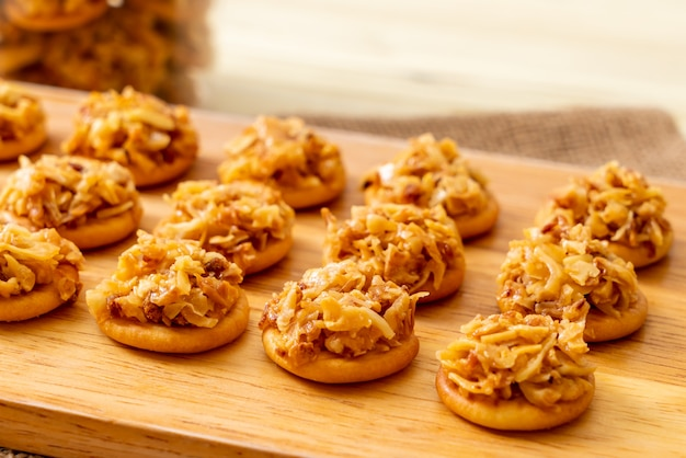 Biscuit durian séché