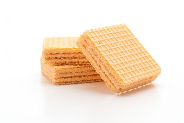 Biscuit de gaufrette à la crème d'orange