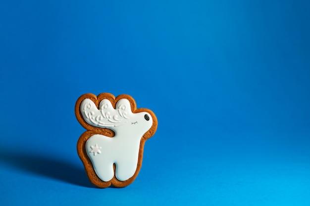 Biscuit de pain d'épice en forme de renne