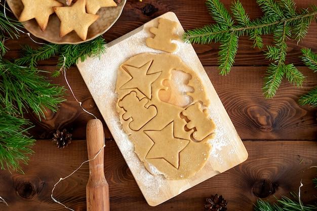 Biscuit de pain d'épice de noël
