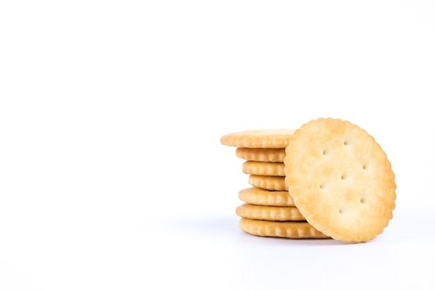 Biscuit rond croustillant