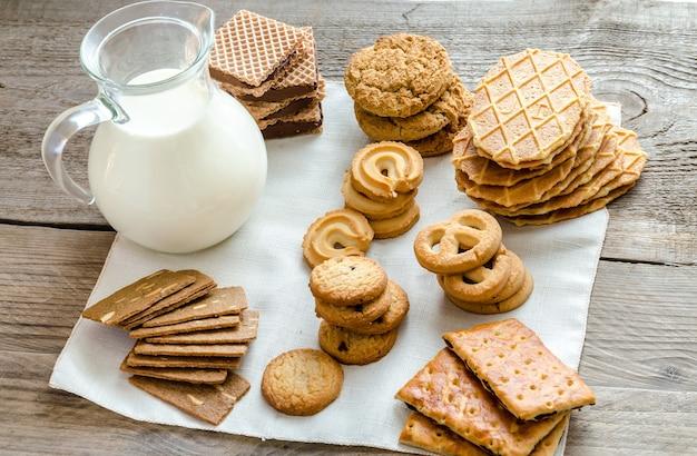 Biscuits au beurre et aux amandes