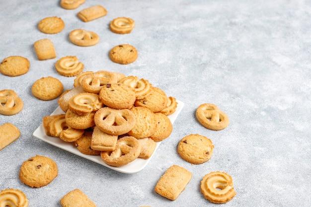 Biscuits Au Beurre Danois. Photo gratuit