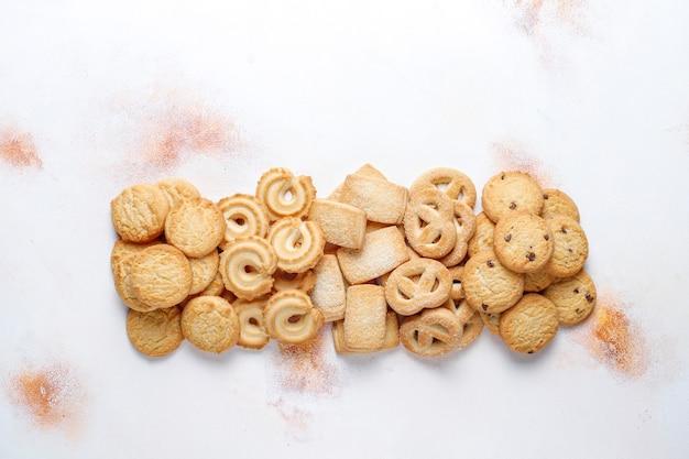Biscuits au beurre danois.