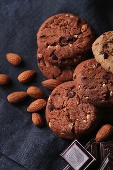 Biscuits au chocolat aux pépites de chocolat