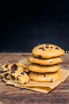 Biscuits au chocolat, cookies