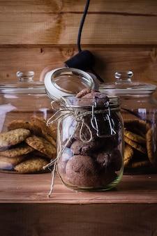 Biscuits au chocolat faits maison