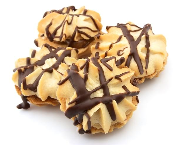 Biscuits au chocolat se bouchent