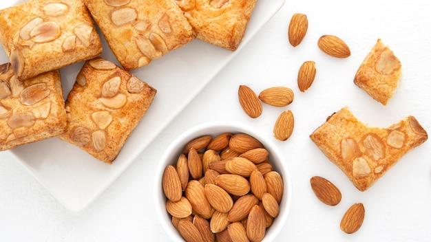 Biscuits au four aux amandes