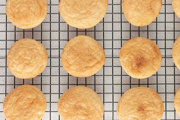 Biscuits au four