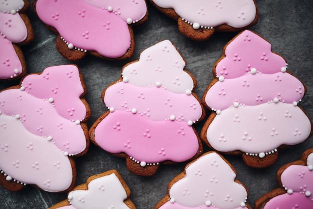 Biscuits au pain d'épice de noël
