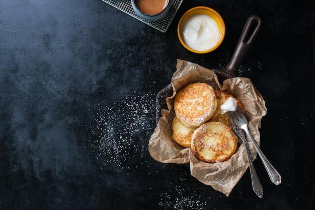 Biscuits au sucre sur le dessus