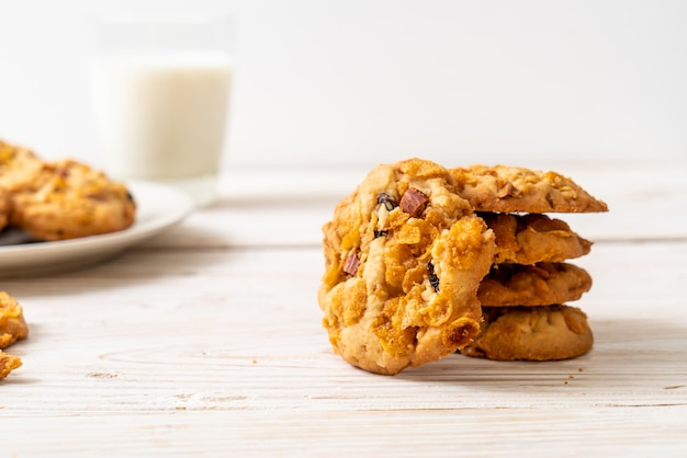 Biscuits aux raisins secs et aux amandes